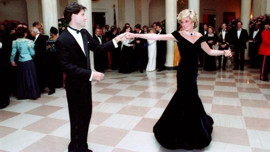 Kerry Taylor Princess Diana Travolta Dress