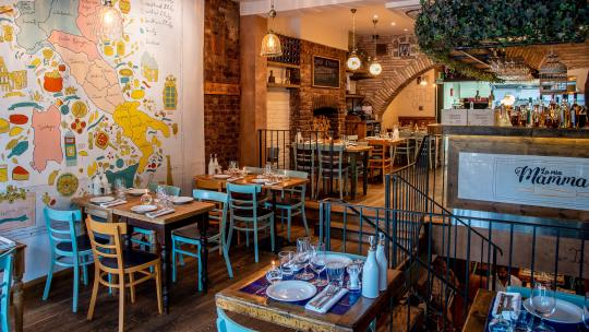 <h1>La Mia Mamma, Chelsea: Restaurant Review </h1>