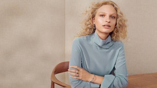 Georg Jensen's Offspring Collection: Polished Poetry in Motion