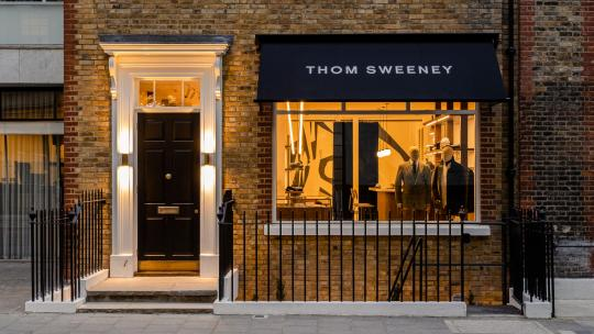 Thom Sweeney's new Mayfair townhouse