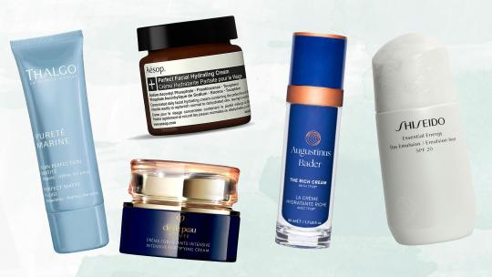 best moisturisers and face creams