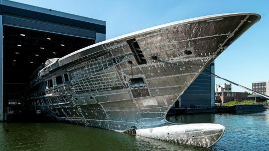 Heesen Yachts' Project Cosmos 11