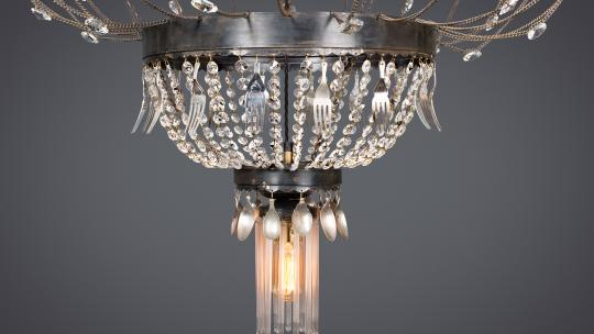 luxury bespoke chandelier