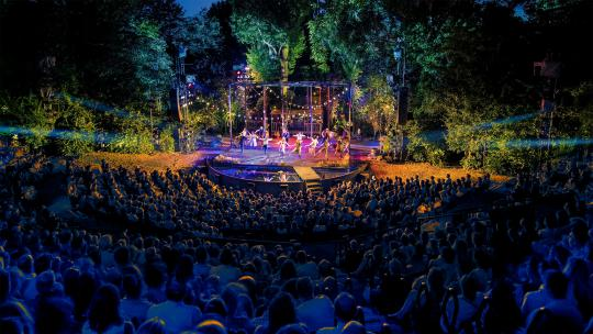 Open air theatre, london