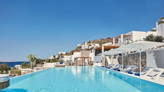 mykonos, luxury hotel