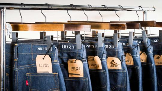 Sustainable denim Levi's