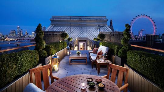 London hotels reopening offers