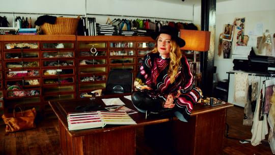 <h1>Alice Temperley unveils a multifaceted new emporium in Somerset, complete with cocktail bar</h1>