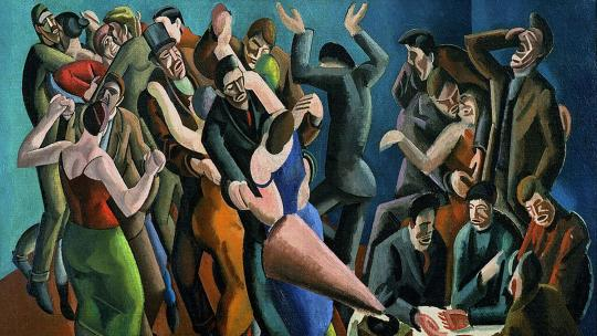The Dance Club (The Jazz Party). William Patrick Roberts