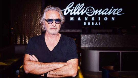 Flavio Briatore interview billionaire club