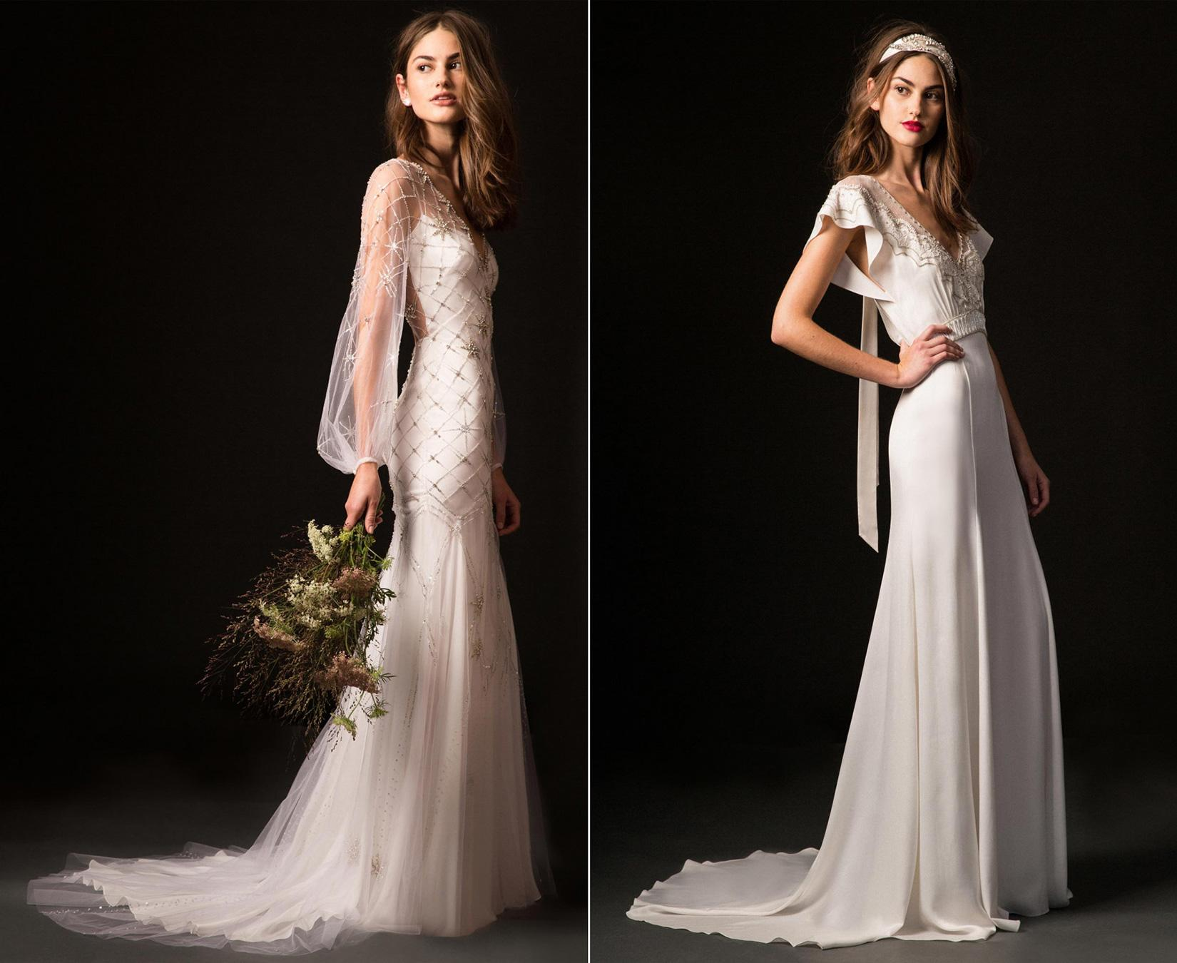c450fdad5e The British designer s bridal collections are what English fairytales are  made of
