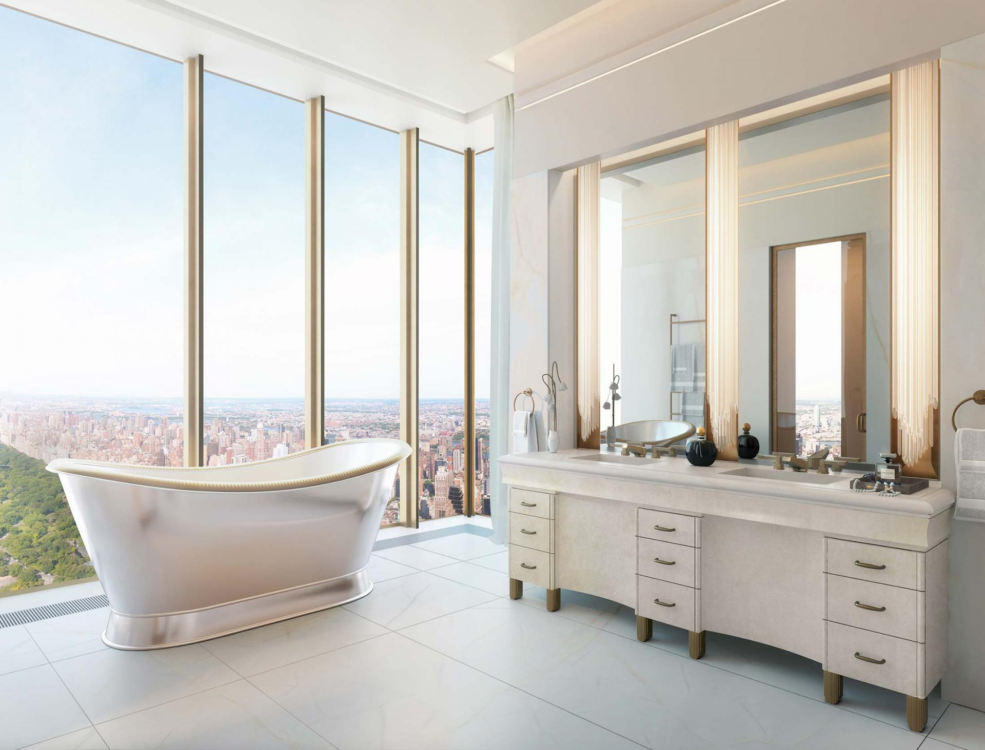Inside the Steinway Tower Luxury Apartments, New York