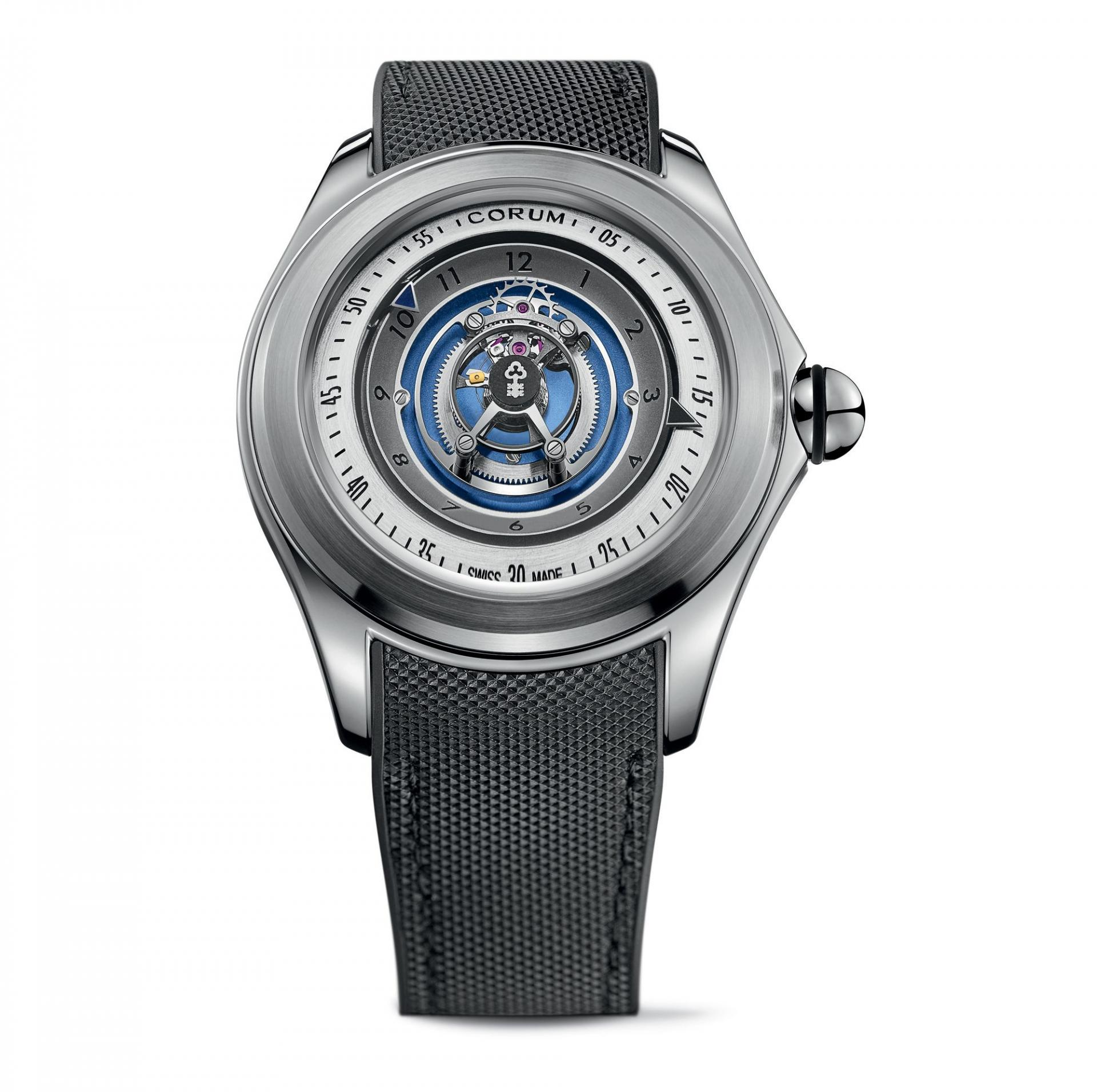 Bubble Central Tourbillon, £67,100, Corum