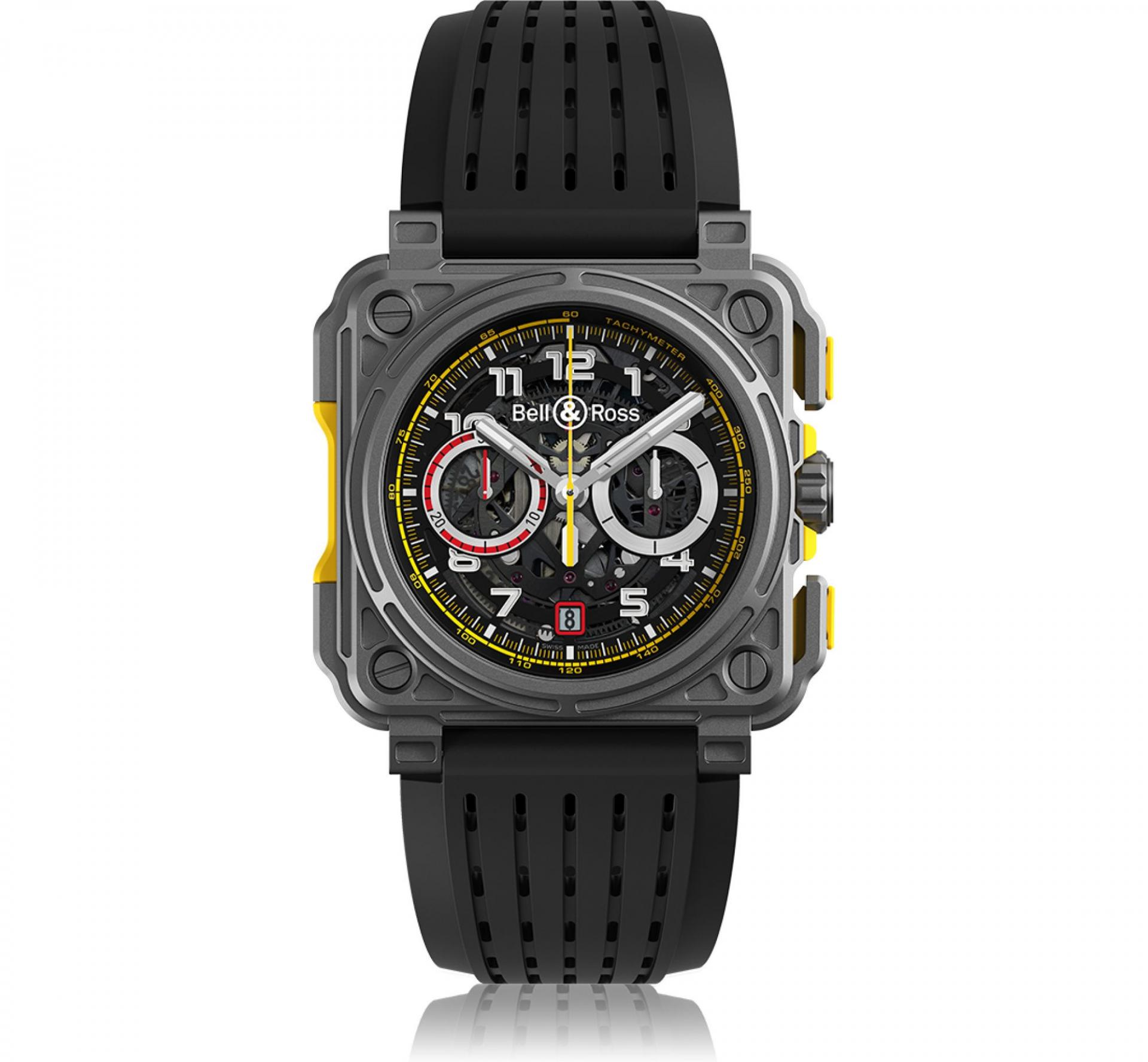 R.S.18 Chronograph, £16,900, Bell & Ross