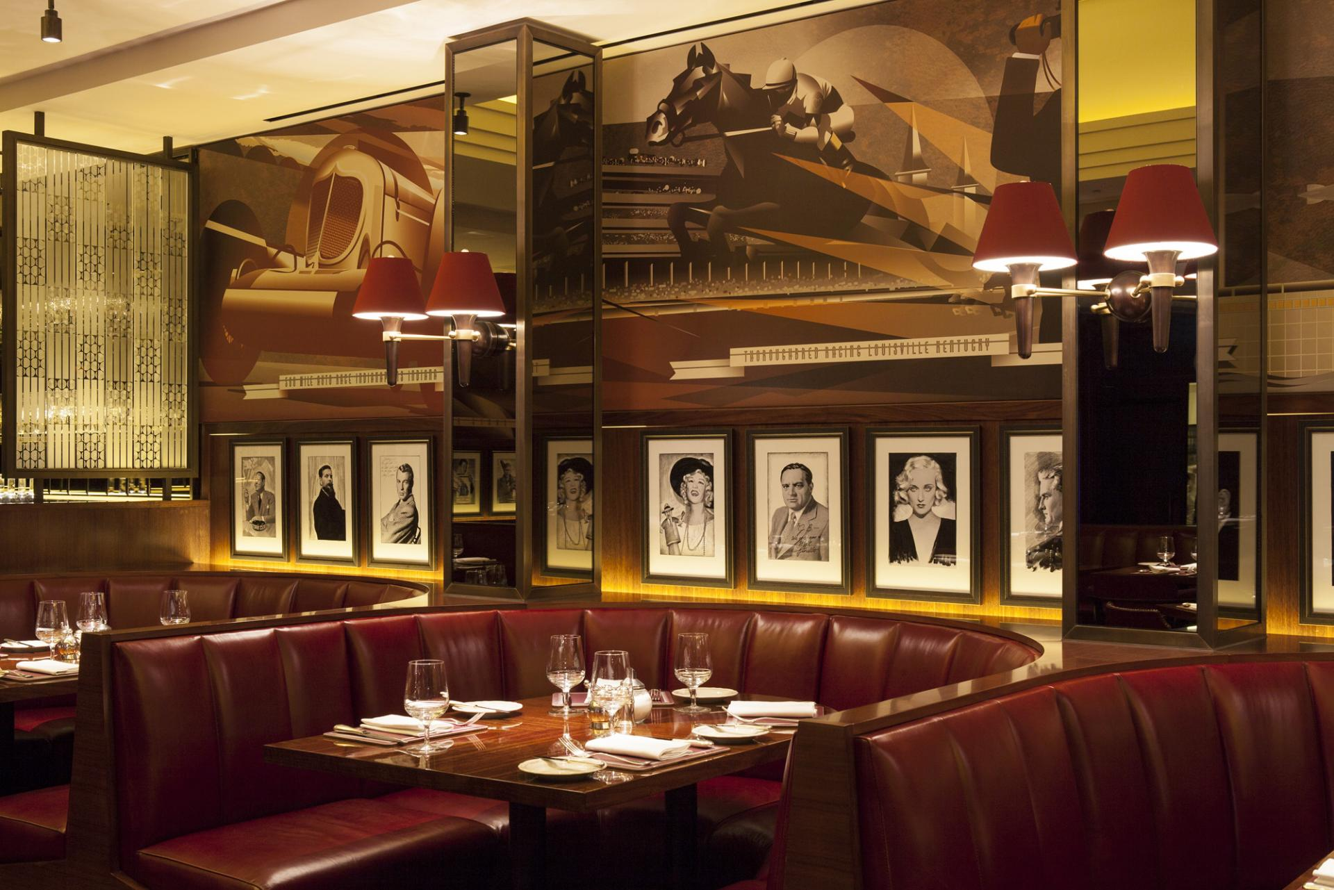 A night at the beaumont hotel mayfair london travel luxury london set within a grade ii listed former garage on mayfairs brown hart gardens dark cherry wood panelling handsome chequerboard floors and shell back seats malvernweather Choice Image