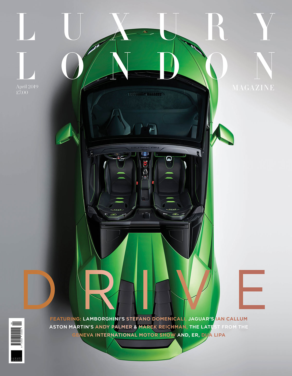 Luxury London Magazine (Hard Copy)