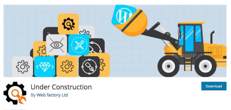 How To Create An Under Construction Page In WordPress In Just A Few Minutes
