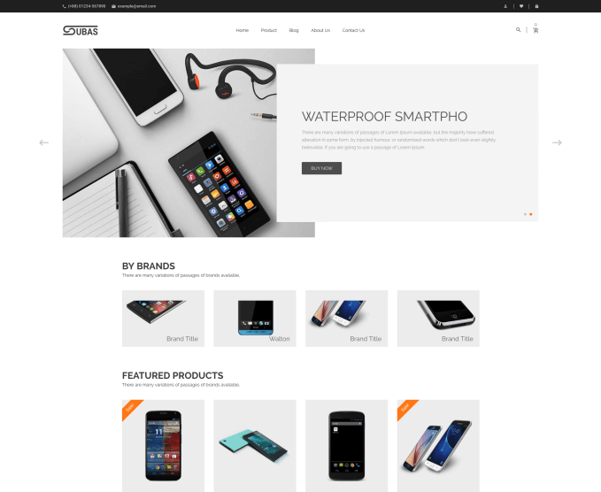 Subas+Electronic+Theme