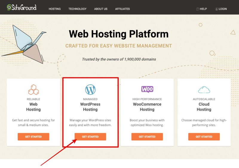 How To Create A WordPress Website Using SiteGround