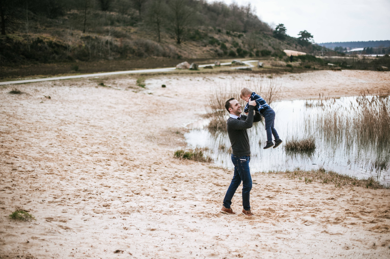 Fotoreportage met het gezin