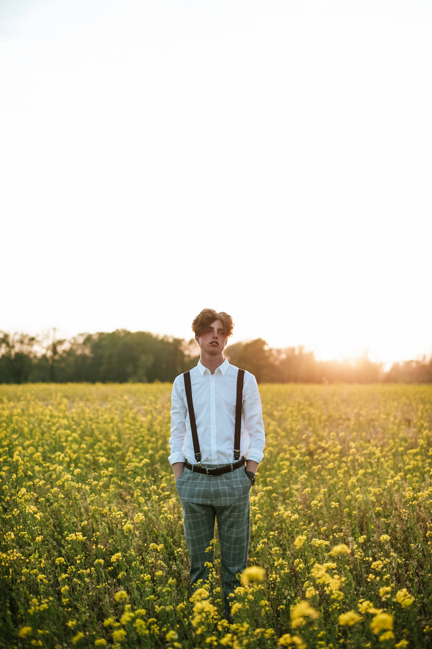 golden hour portret shoot