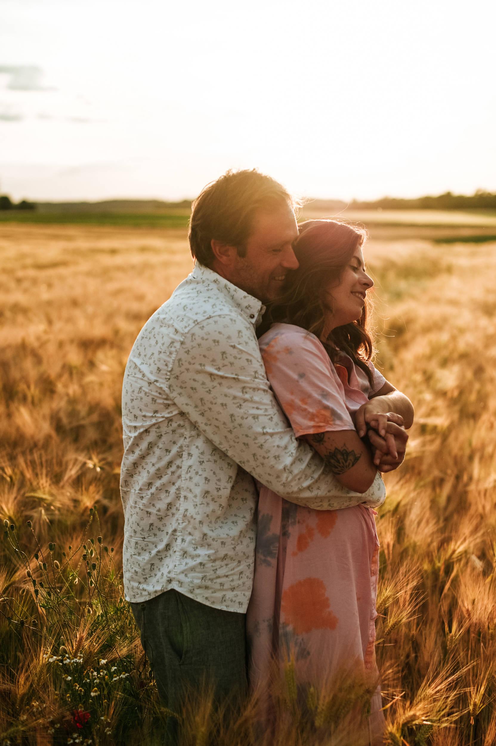 romantische en spontane loveshoot