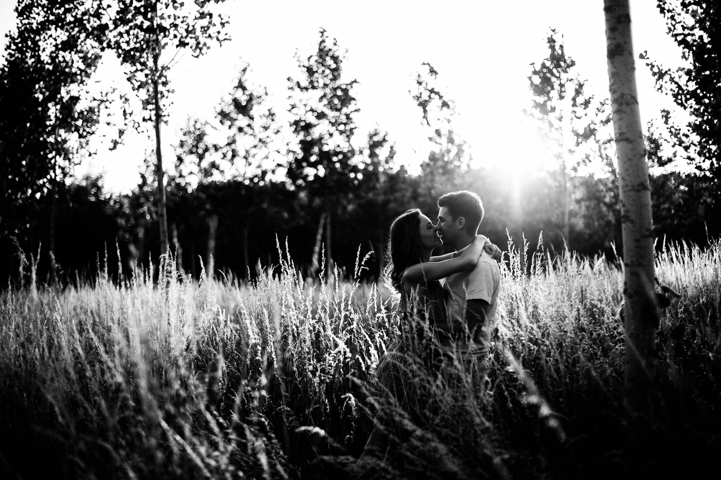 Loveshoot in de natuur