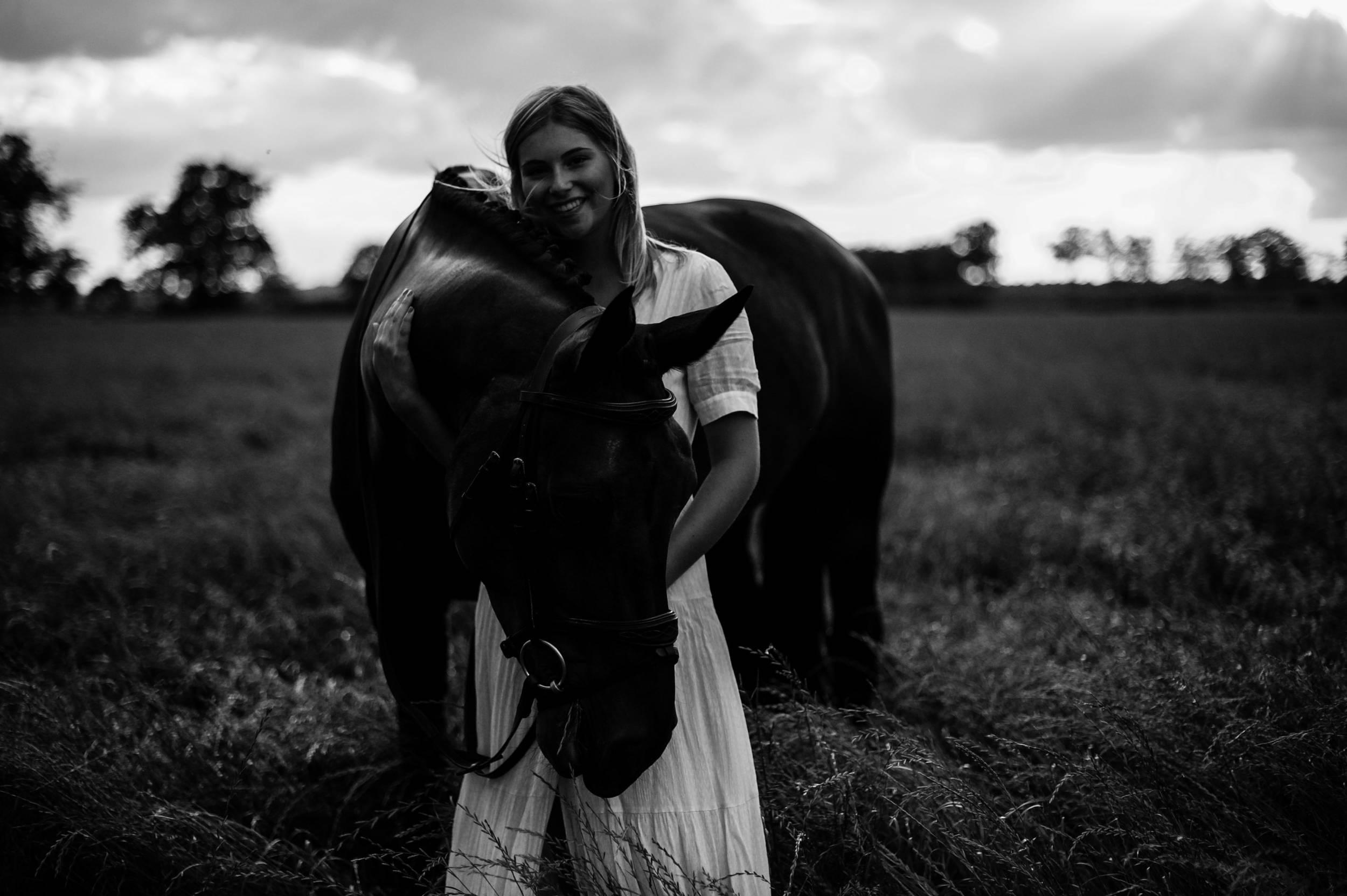 Portretshoot met paard