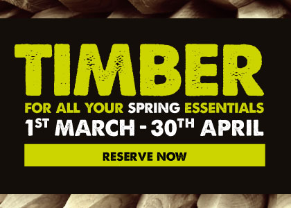 Timber essentials - reserve now