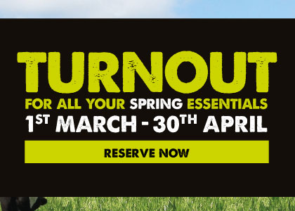 Turnout essentials - reserve now