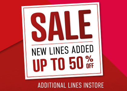 Sale - Save upto 50%