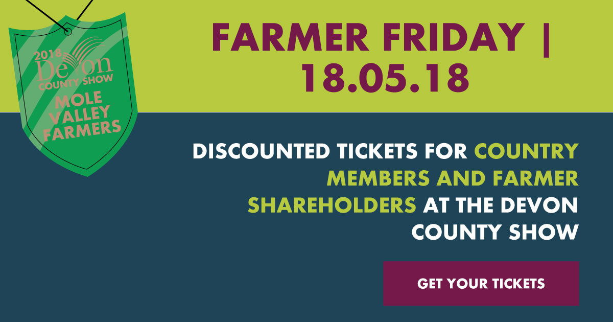 Farmer Friday Offer - Get your tickets here