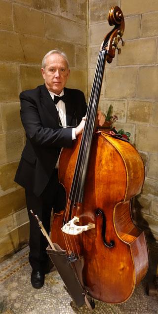 John Smith on Double Bass