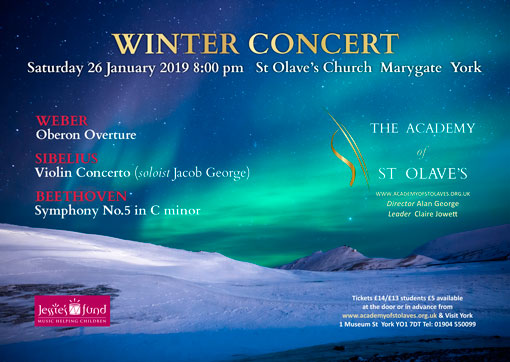 Orchestra Concerts in York - January 2019