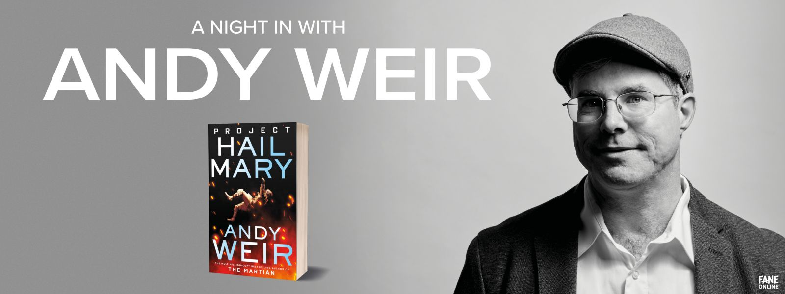 A Night In with Andy Weir