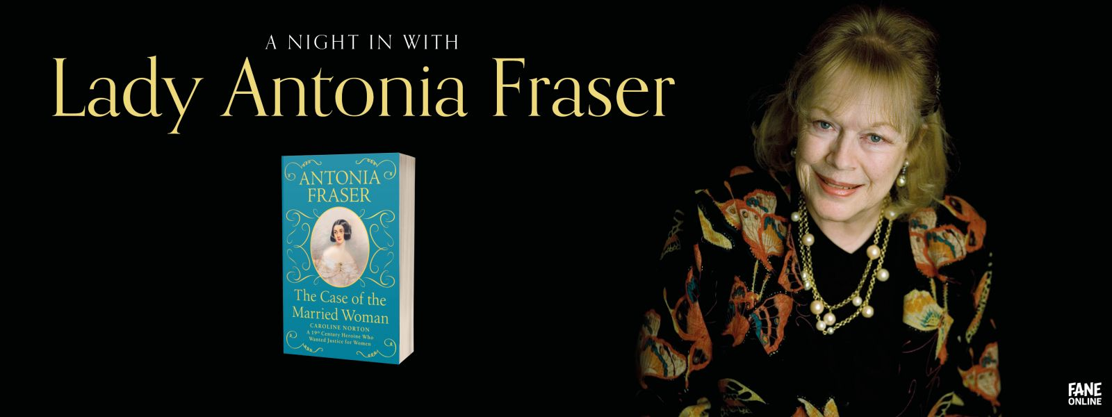 A Night In with Lady Antonia Fraser