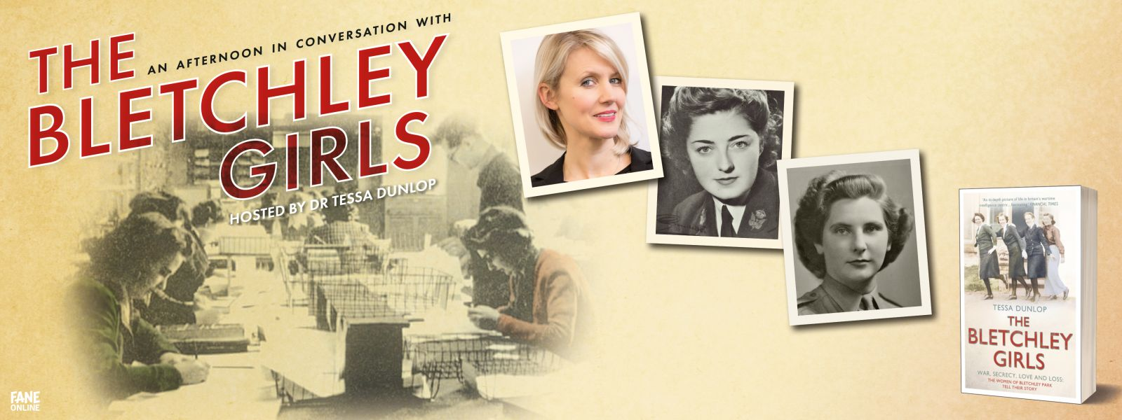 An Afternoon in Conversation with The Bletchley Girls