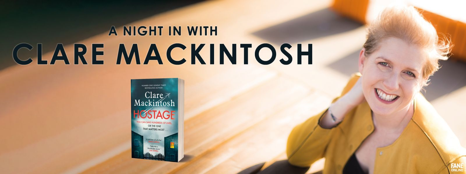 A Night In With Clare Mackintosh