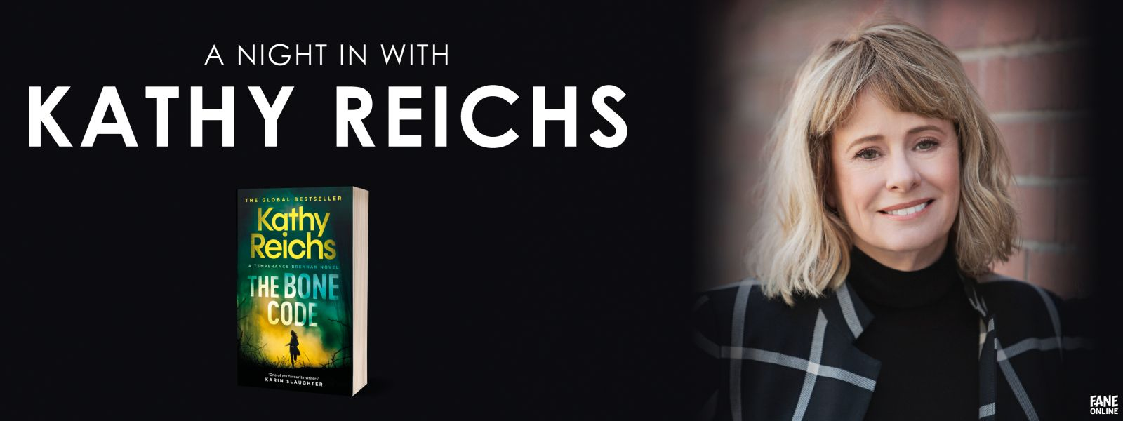 A Night In with Kathy Reichs