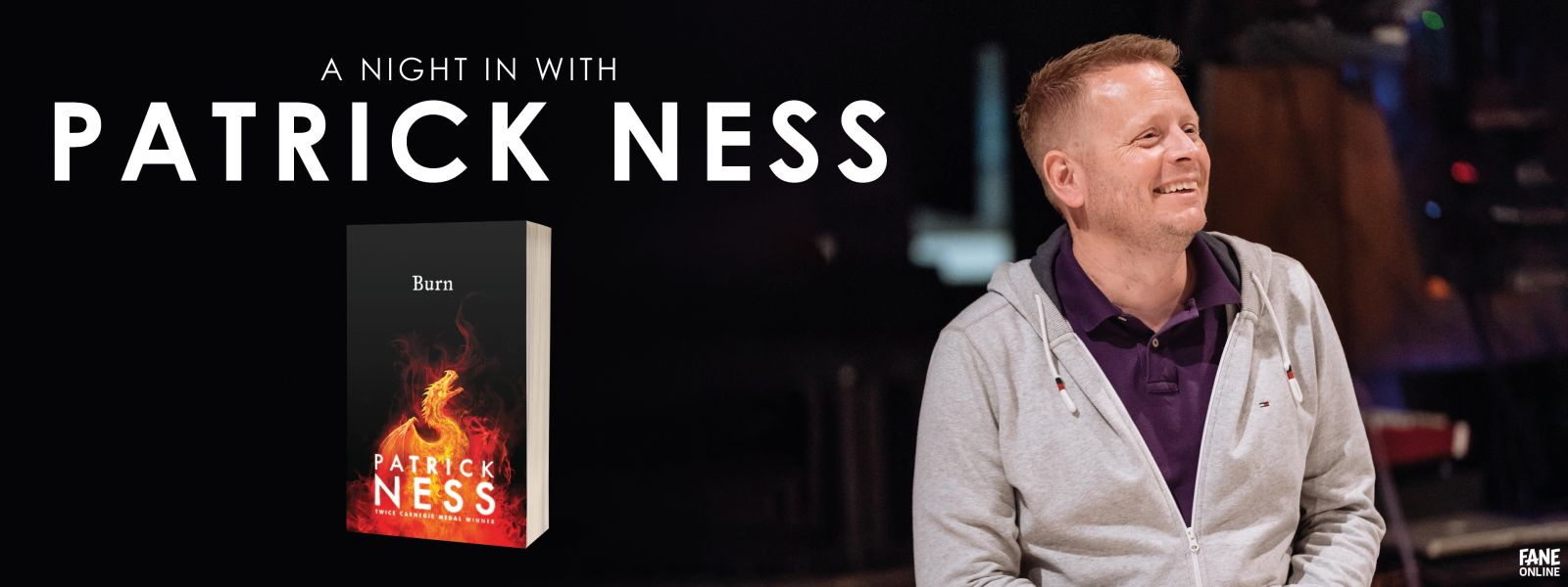 A Night In with Patrick Ness