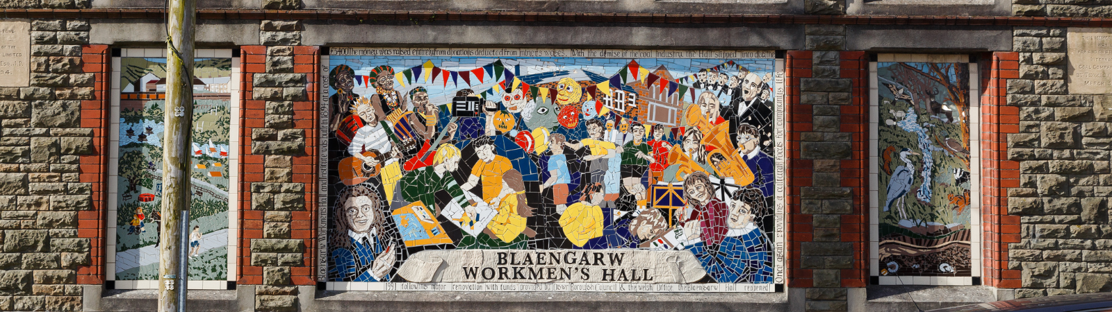 BOOK NOW FOR BLAENGARW WORKMEN'S HALL