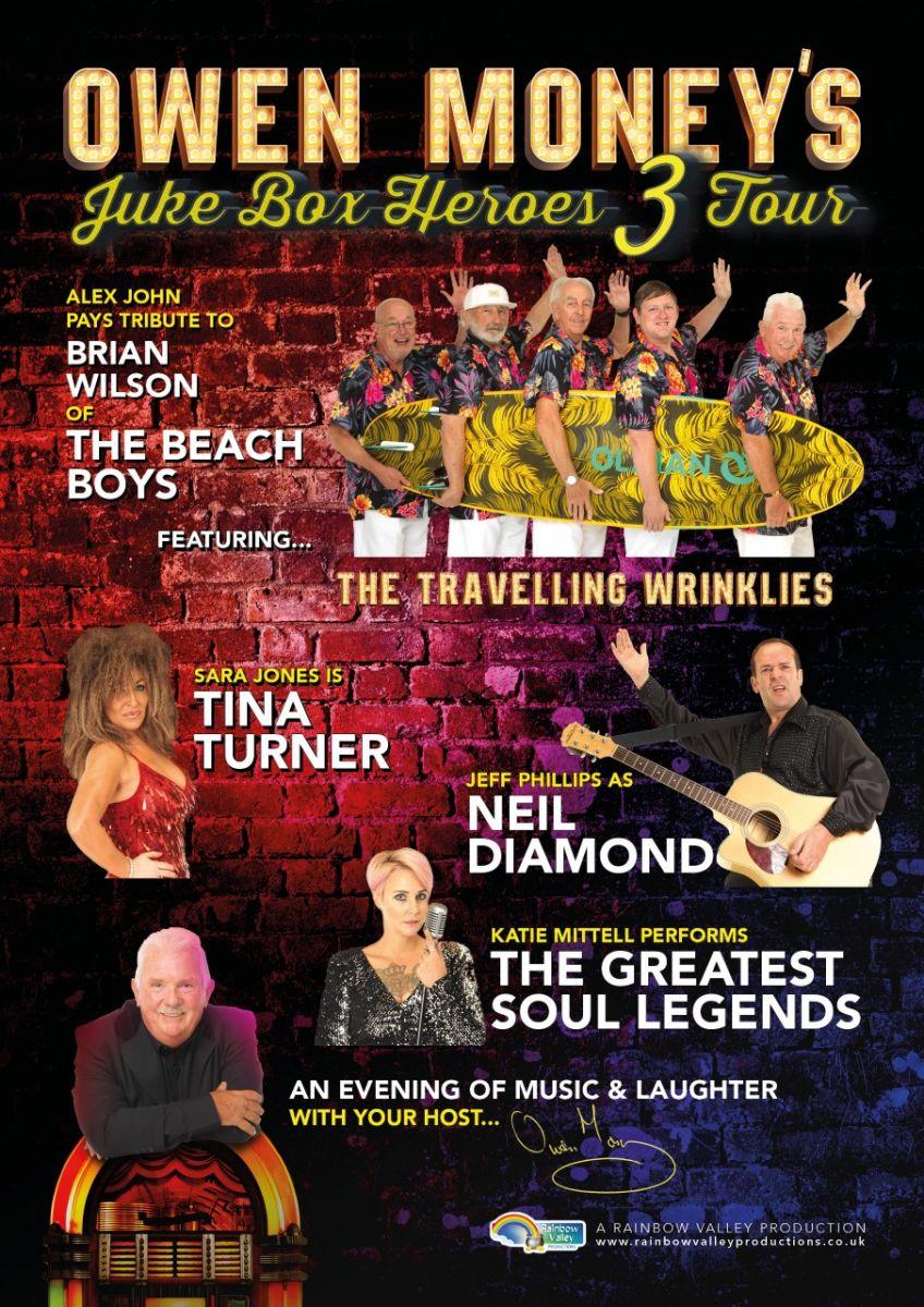 Owen Money's Jukebox Heroes 3 Tour