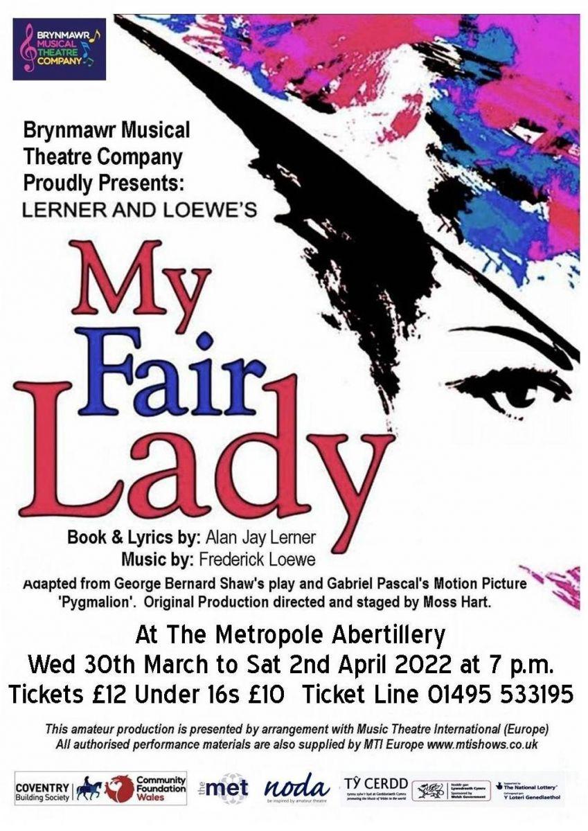Brynmawr Musical Theatre Company - My Fair Lady