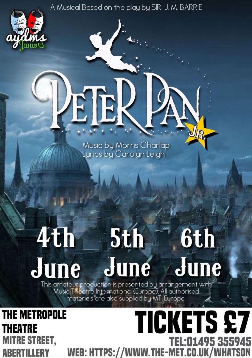 AYDMS Juniors - Peter Pan Jr