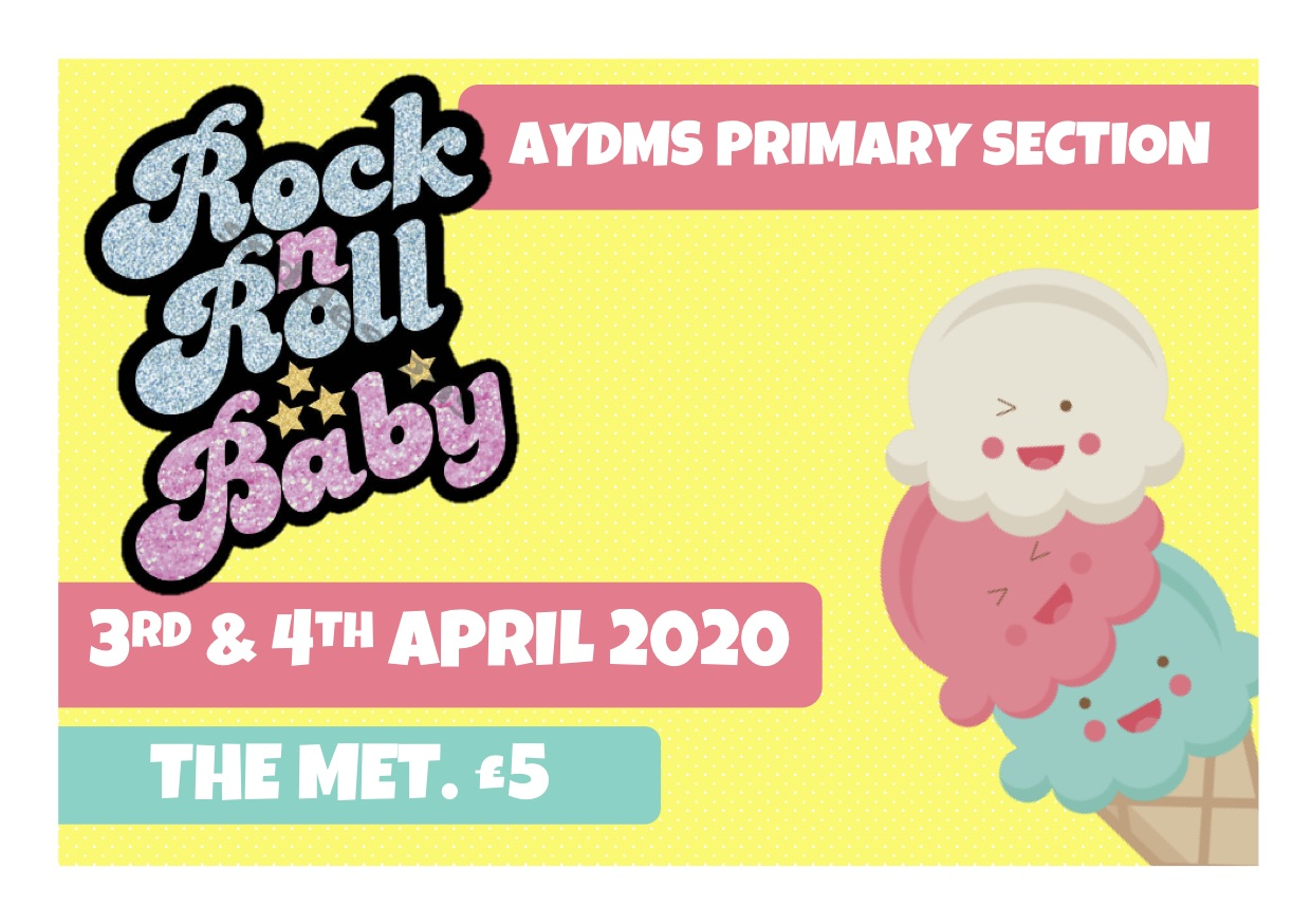 AYDMS Primary - Rock n Roll Baby