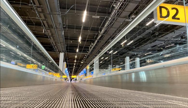 Schiphol Airport departure gates
