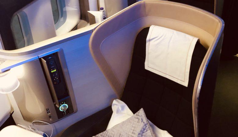 British Airways First Cabin - 747-400
