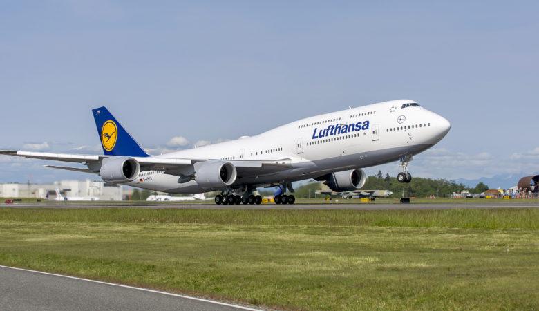 Lufthansa 747-800l