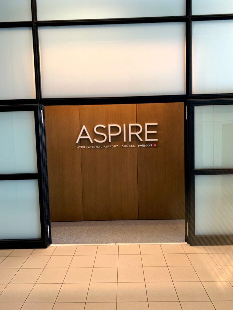ASPIRE Lounge at Sofia Airport