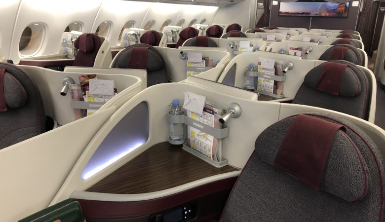 Qatar Airways Business Class Super Diamond Seat